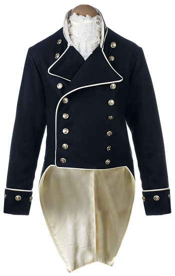 ct5023 naval captains frock shown here is a naval captains