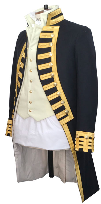Naval, Admiral, Frock Coat, Napoleonic, Captain
