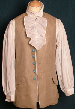 19th Century Tailored Period Waistcoats And Vests